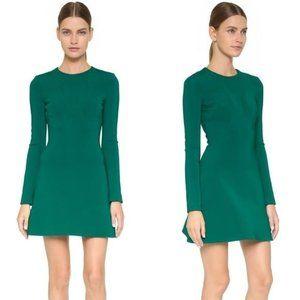 CUSHNIE ET OCHS Emerald Long Sleeve Dres